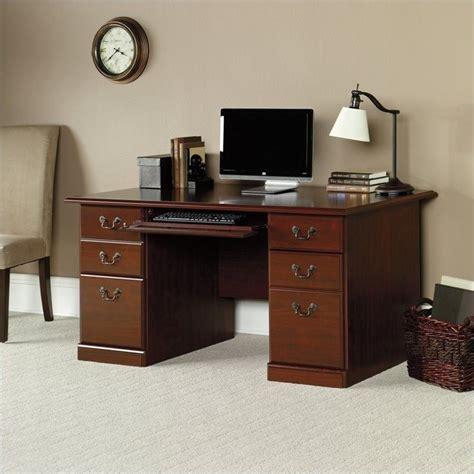 heritage hill collection executive desk sauder heritage hill classic cherry computer desk ebay