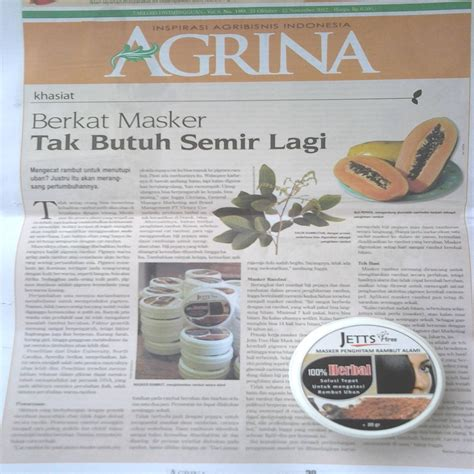 Masker Vienna Di Indo teh putih white tea indonesia jettstree hair mask