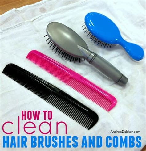 how to disifect barber combs hair brushes and combs