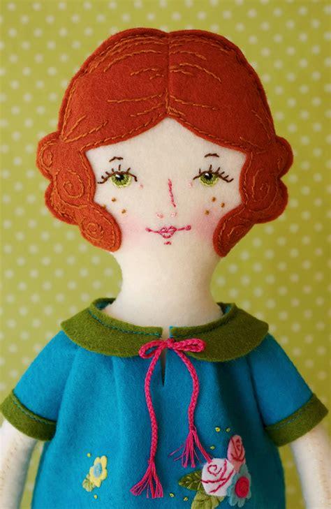 pattern felt doll rosie pdf pattern wool felt doll on luulla