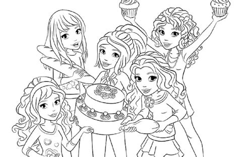 Lego Friend Coloring Pages lego friends coloring pages coloring home