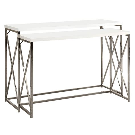nesting sofa tables ella modern nesting console tables eurway