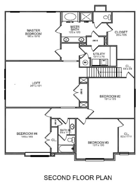 upstairs floor plans upstairs master bathroom floor plans with walk in closet