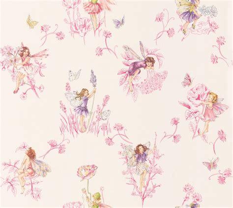 wallpaper flower fairy meadow flower fairies cream wallpaper by jane churchill