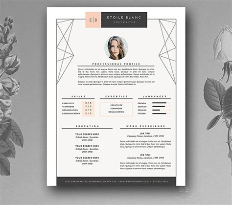 they say i say templates answers 10 great minimal design cv designs