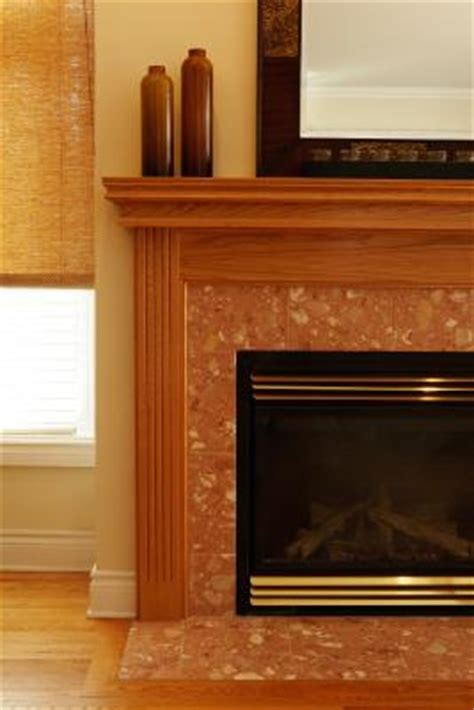 How To Attach Mantle To Brick Fireplace by How To Attach A Fireplace Mantel Ehow Uk