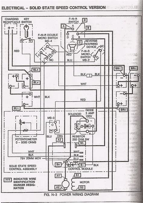 golf cart battery wiring diagram ez go wiring diagram