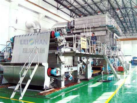 Paper Machine Cost - china low cost of tissue paper machine paper recycling
