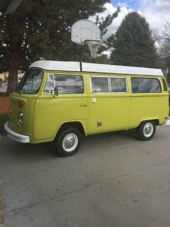 vw bus camper conversion  sale  boise id