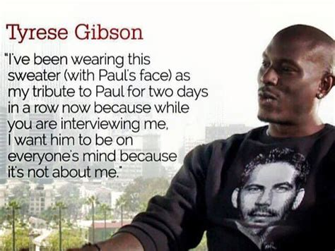 Quote Of The Day From Tyrese by Thank You Tyrese For Always Thinking Of Your Much