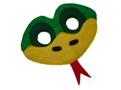 printable lizard mask template image gallery snake mask