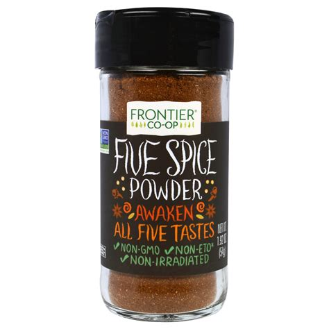 frontier natural products five spice powder 1 92 oz 54 g iherb com