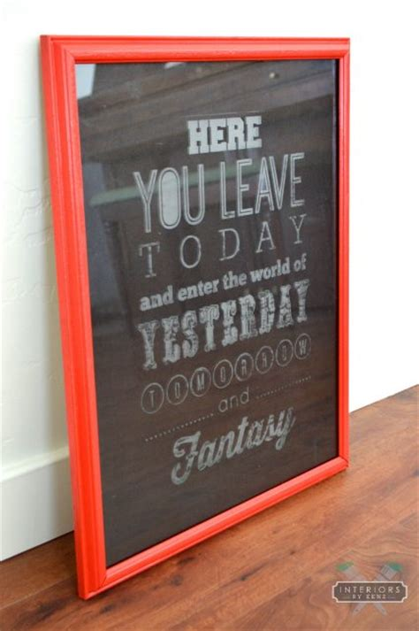 etched glass picture frame all things thrifty