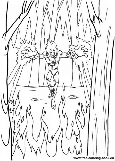Coloring pages Ben 10 - page 3 - Printable Coloring Pages