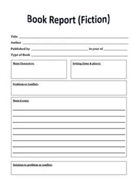 book report template 6th grade exle 6th grade book summary make a classroom newspaper enchantedlearning 1000 ideas about