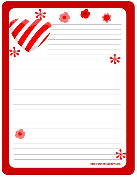 free printable valentine stationary borders 25 best borders stationary hearts images on pinterest