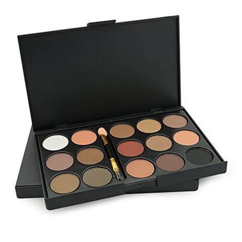 Eyeshadow Caring Color ucanbe 15 earth color matte pigment eyeshadow palette