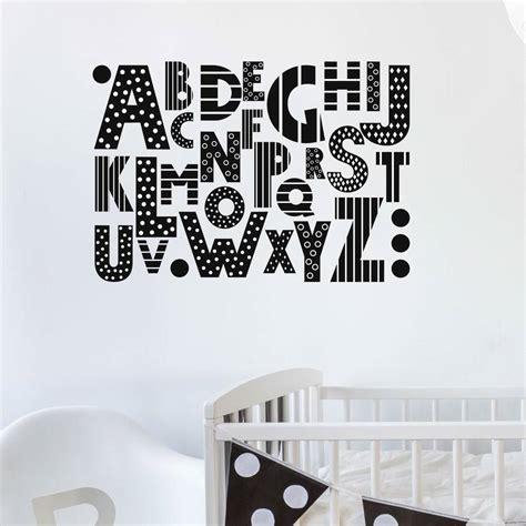 abc wall stickers abc wall sticker by nutmeg notonthehighstreet
