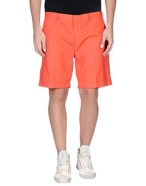 Ferragamo Bermuda ferragamo bermuda shorts in for coral lyst
