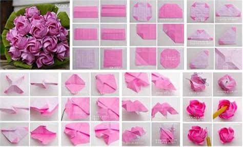 Origami Roses Step By Step - excellent origami step by step 2016