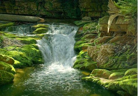 imagenes de paisajes oleo pinturas cuadros lienzos paisaje realista