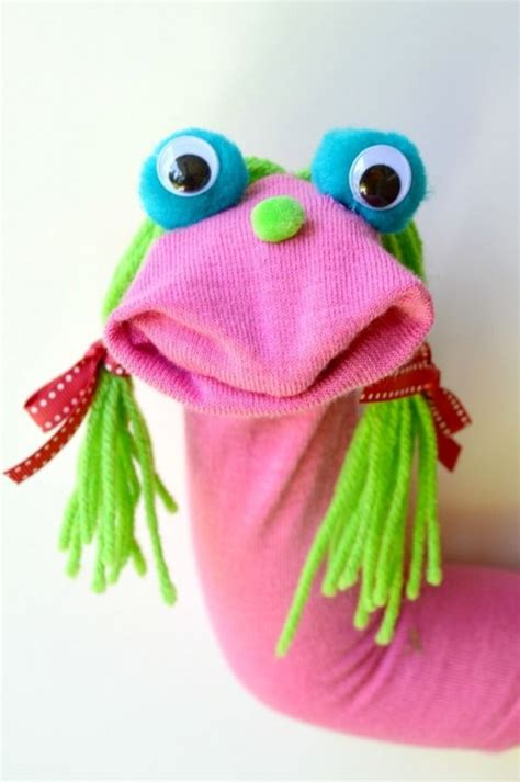Purple Room Crafts - 27 diy sock toys how to make sock animal puppets for kids diy craft ideas amp gardening