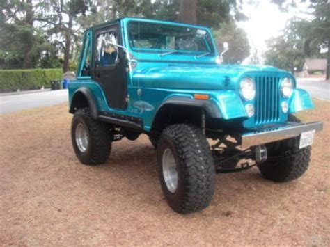 1982 Jeep Wrangler Sell New 1982 Jeep Wrangler Cj7 Custom Frame