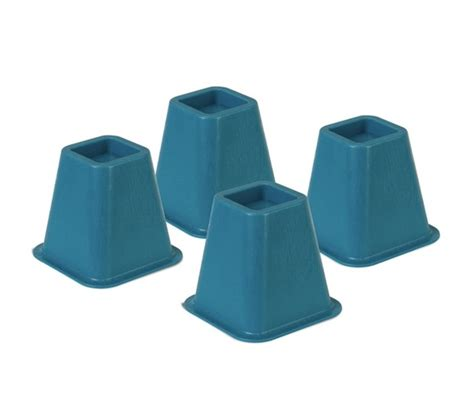 Bed Raisers by Colored Bed Risers Blue Products For Dorms Cool College
