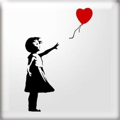 stencil studio banksy style balloon girl reusable
