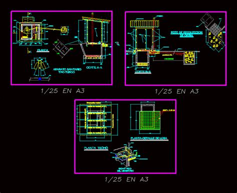 Composting Toilet DWG Detail for AutoCAD ? Designs CAD