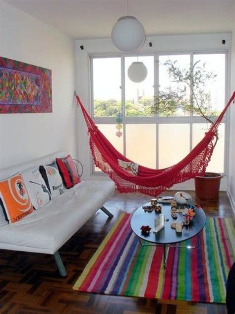 ways  incorporate hammocks   interior