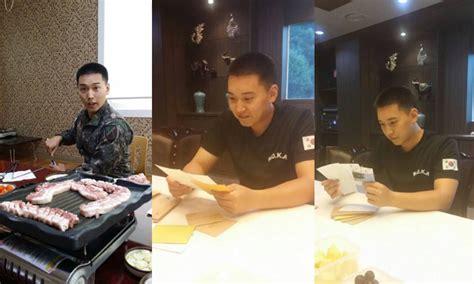 Kaos Korean Pop Sungmin omo imutnya sungmin suju pose unyu saat lagi makan di