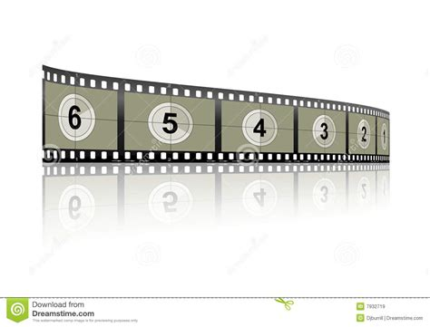 Countdown Filmstrip Royalty Free Stock Images Image 7932719 Filmstrip Countdown