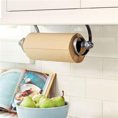 Ballard Designs Chandeliers artichoke under cabinet paper towel holder traditional