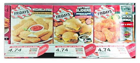 tgif frozen food printable coupons tgi friday s frozen snacks only 2 06 at target the