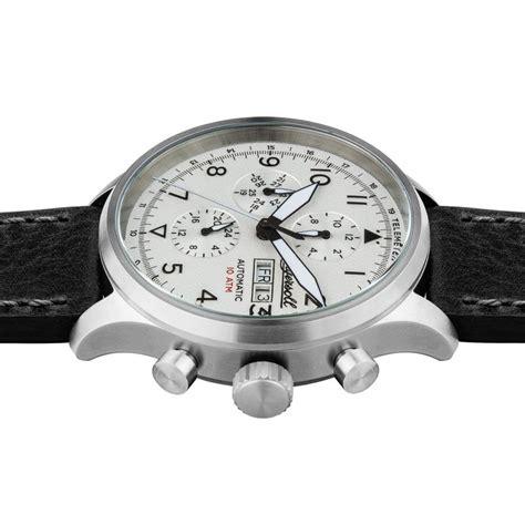 Silber Uhr Polieren by Ingersoll I01901 Herrenuhr The Bateman Quarzwerk Edelstahl