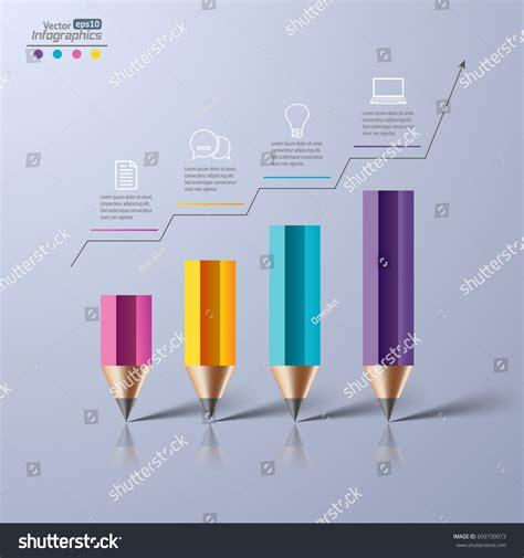 Modern Paper - modern paper infographics diagram web design stock vector