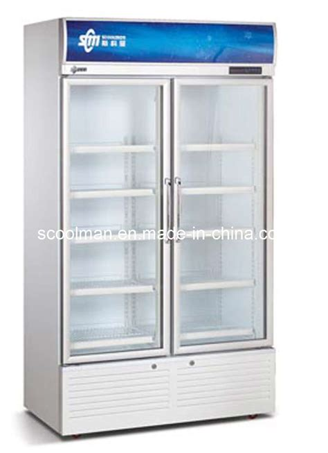 Showcase Freezer china supermarket upright showcase freezer