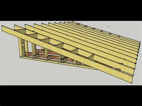 Log Cabin Plan by Skillion Roof Procedure Youtube