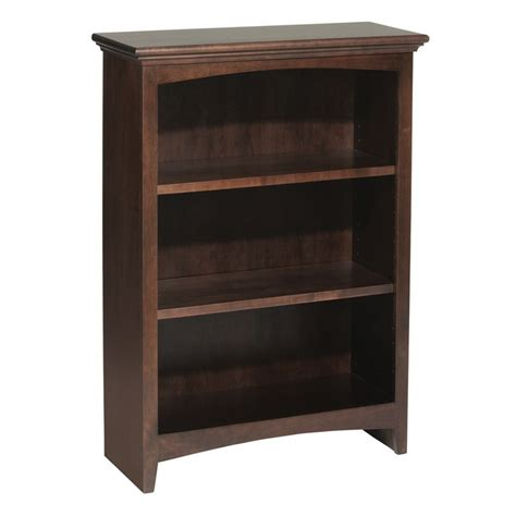 Wide Bookcase Whittier Wood Bookcase Collection 24 Quot Wide