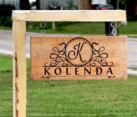 Custom Backyard Signs by Best 25 Custom Yard Signs Ideas On Address