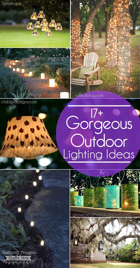 outdoor lighting ideas 17 outdoor lighting ideas for the garden scattered