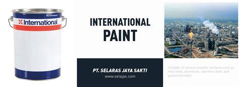 spray paint tahan panas pt selaras jaya sakti jual international paint cat pc