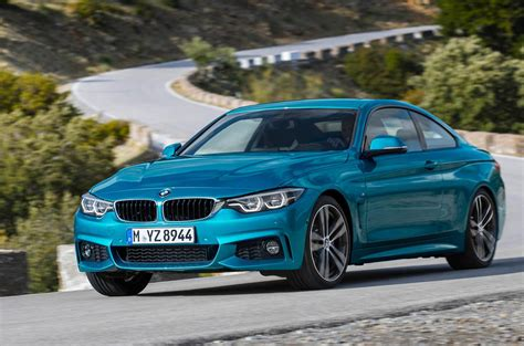 2017 bmw 4 series facelift revealed autocar