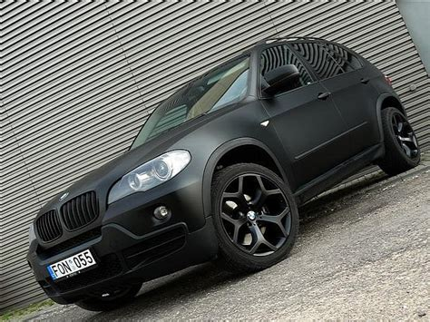bmw x5 black matte stealth suv matte black bmw x5 from lithuania autoevolution