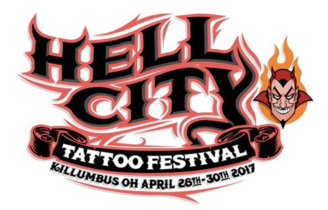 hell city tattoo hell city festival eye