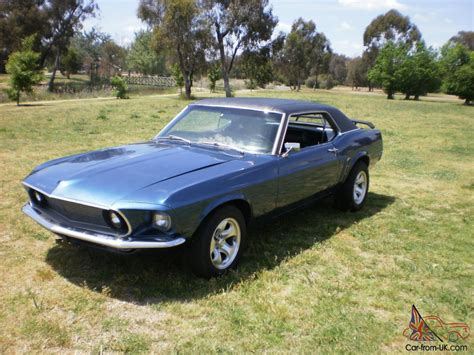 1969 mustang 351 v8 auto coupe 69 mustang 351 v8