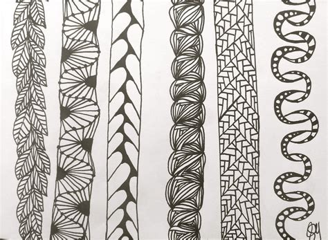 doodle zentangle columns zentangle doodle by sarasoulsister13 on deviantart