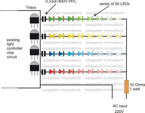 led light string wiring diagram converting ordinary rice bulb string light to led string