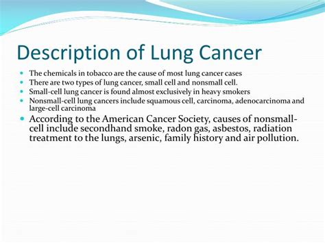 ppt lung cancer powerpoint presentation id 7064595